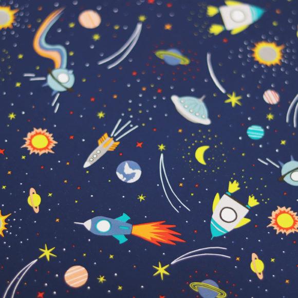balící papír vesmír FSC