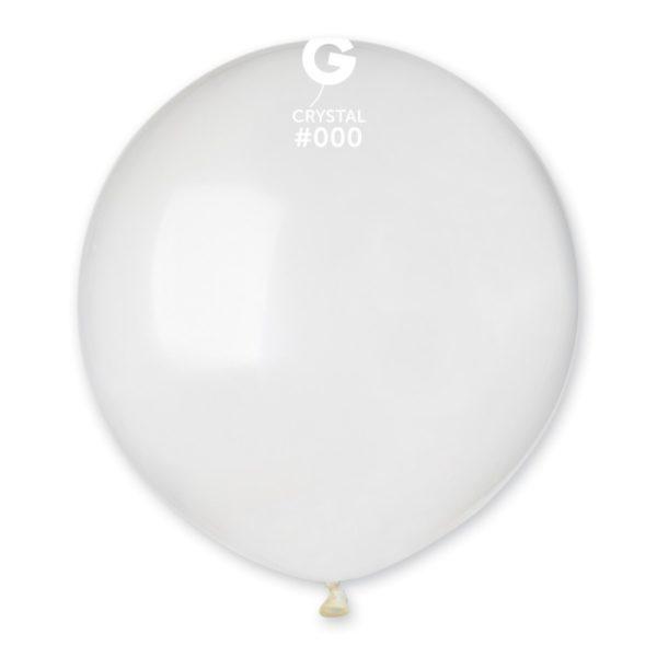 balónek průhledný 48 cm