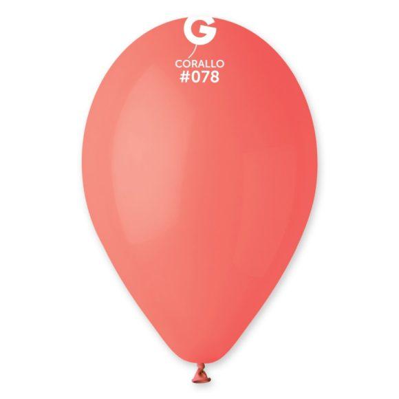 balónky korálově červené