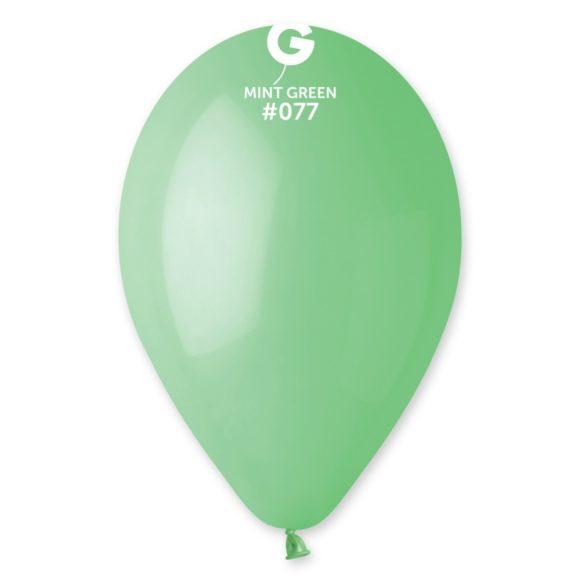 balónky mint zelené