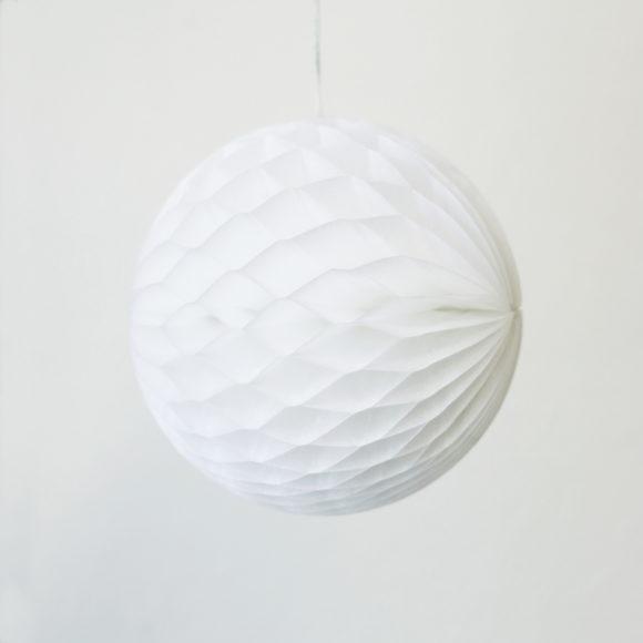 papírová skládaná koule
