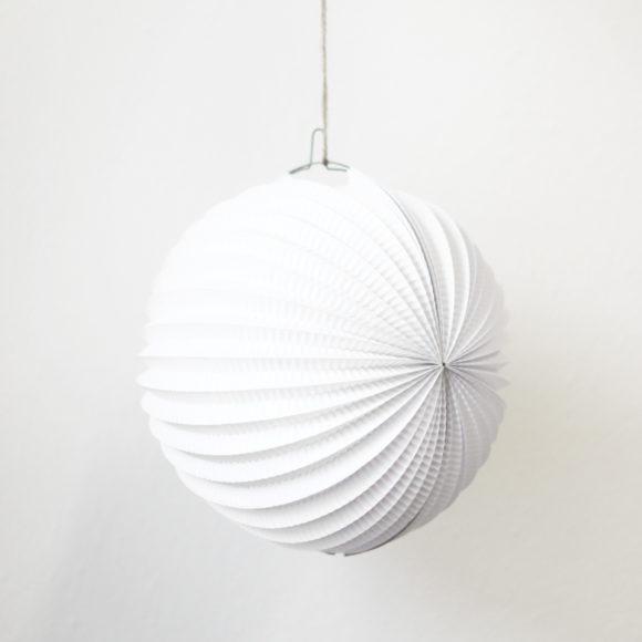 lampion bílý česká výroba