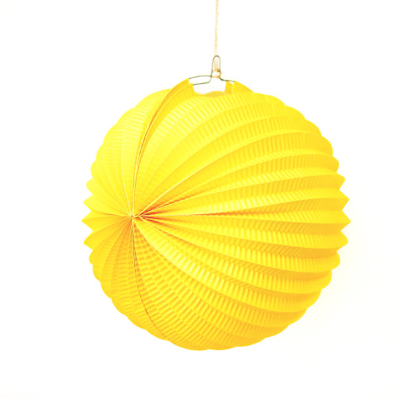 lampion žlutý