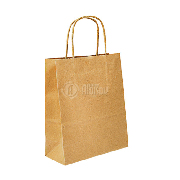 eko dárková taška hnědá