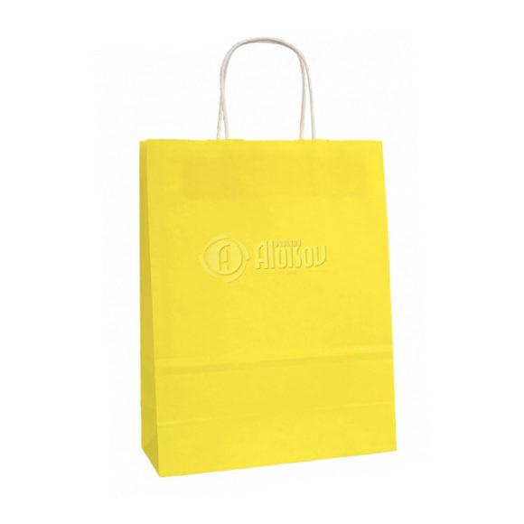 eko dárková taška žlutá