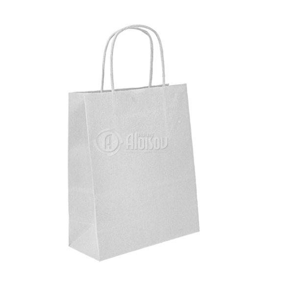 eko papírová taška bílá