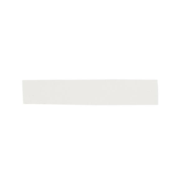 papírová páska bílá