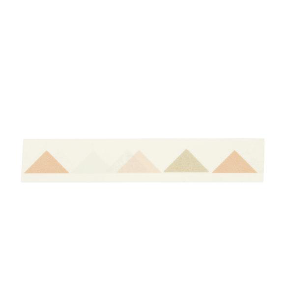papírová páska trojuhelníčky