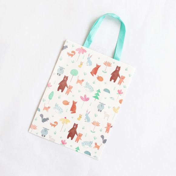 Dárková taška Zvířátka FSC
