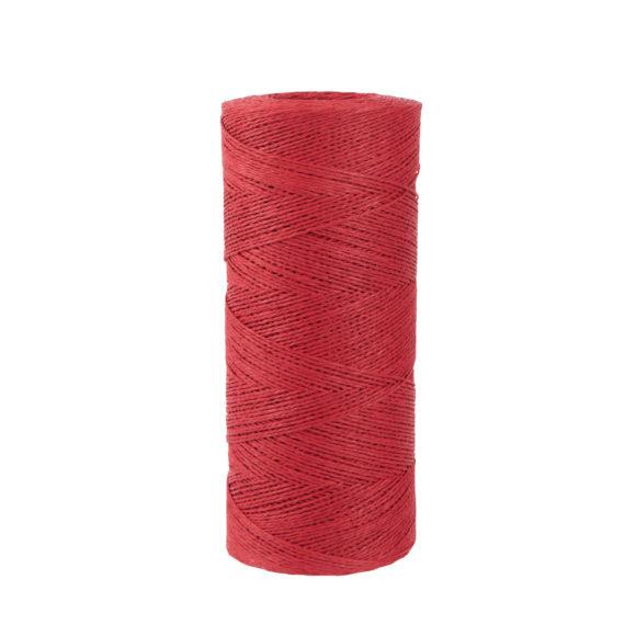 papírový provázek červený